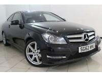 2012 62 MERCEDES-BENZ C CLASS 2.1 C220 CDI BLUEEFFICIENCY AMG SPORT 2DR AUTOMATI
