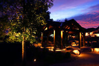 LED Landscape lighting systems and service