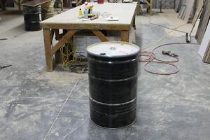 55 Gallon Steel Storage Drums