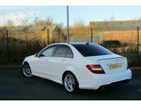 2012 Mercedes-Benz C Class 2.1 C220 CDI BlueEFFICIENCY AMG Sport 7G-Tronic Plus