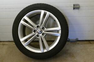 4 Passat rims and wheels, mounted