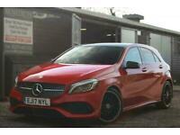 2017 Mercedes-Benz A-CLASS 1.6 A 180 AMG LINE PREMIUM PLUS 5d 121 BHP Hatchback