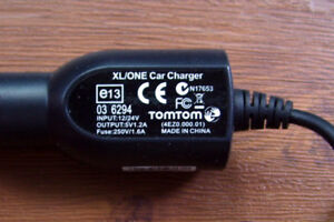 TomTom GPS Car Charger