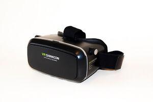 Casque de réalité virtuelle pour smartphone et télécommande blue