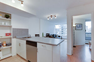 1 bedroom furnished view apartment - downtown Vancouver