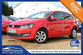 2014 63 VOLKSWAGEN POLO 1.2 MATCH EDITION 3D 59 BHP