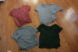 tops & sweaters  | sizes XS-M | see description for prices