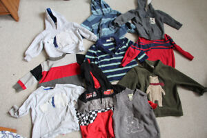 Lot of 10 Boys Size 2 Hoodies, Sweaters & Long Sleeve Tops