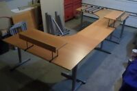 4 Desks can be Made out of this 1 big Desk / lots of extensions