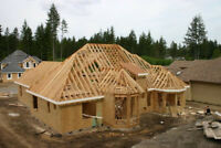 Structural Carpentry including Custom Home framing in Toronto