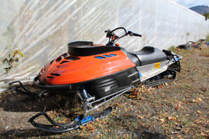 The Body - '03 Ski-doo 600, now = 890 Triple. Full Custom Track.