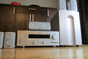 YAMAHA HTR-5860 7.1AUDIO/VIDEO RECEIVER+INFINITY SOUND SYSTEM
