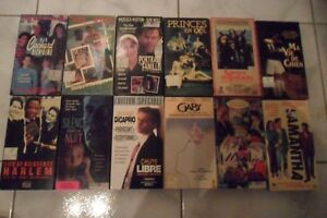 FILMS DIVERS VHS VERSION FRANCAISE (8S)