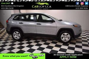 2017 Jeep Cherokee Sport-UCONNECT * BACKUP CAM * TOUCH SCREEN