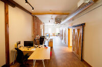 Exceptional office in Collingwood's Downtown Heritage District