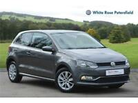 2015 Volkswagen Polo SE 1.0 75PS 5-speed Manual 3 Door Petrol grey Manual