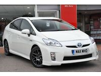 Toyota Prius hybrid vehicles and Honda Insight PCO from £110