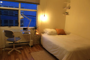 Room sublet for August in the North End