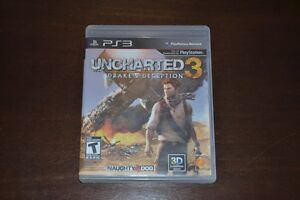 Grand Theft Auto IV, Uncharted 3 pour PS3