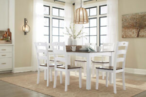 7pc Dining Table Hot Buy  from Furniture express