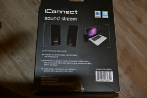 Brand new sealed in package iConnect computer speakers