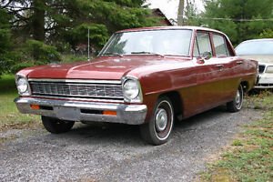 1966 Chevy II 6 cyl. 3 spd. manual - MINT ! Ottawa Ottawa / Gatineau Area image 1