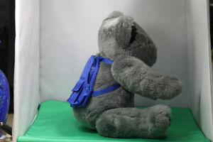 Soft cuddly Grey Teddy Bear fully moveable joints, & backpack Kingston Kingston Area image 4