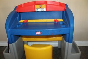 Deluxe Little Tikes Desk & Chair