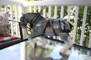 Sylvac Grey Shire Horse