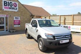 2014 FORD RANGER TDCI 150 XL 4X4 SUPER CAB PICK UP DIESEL