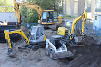 Bobcat and Excavator Service