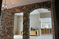 Stone Foundation Restoration, Repointing & Cultured Stone Instal