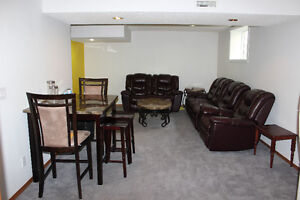2 bed bright and spacious basement