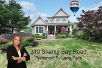 Immaculate home on Shanty Bay Rd with an awesome detached shop!