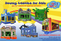 Commercial Grade Inflatable Bouncy Castles for Sale