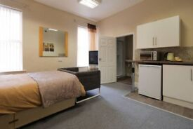 Quality En Suite Studio Rooms with Games Room and Gym