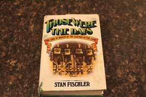 """book """"THOSE WERE THE DAYS"""" FROM STAN FISCHLER 1976."""