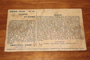 Old Arbuckle Bros. Coffee Company Advertising Cards London Ontario image 8