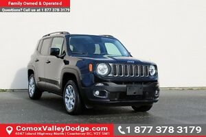 2016 Jeep Renegade North 4x4, HEATED SEATS & STEERING WHEEL,...
