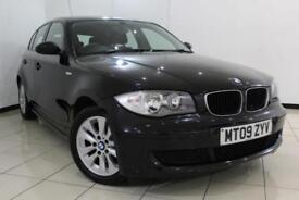 2009 09 BMW 1 SERIES 2.0 116I ES 5DR 121 BHP