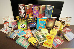 BOOKS AND BOOK COLLECTIONS FOR SALE - Robert B Parker set