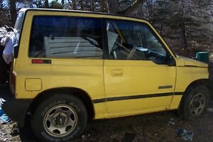 FOR SALE 1991-92 TRACKER ENGINE and TRANSMISSION