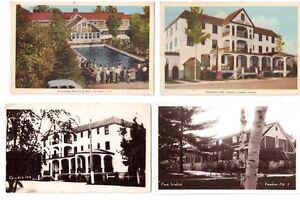 7 cartes postales anciennes de RAWDON.