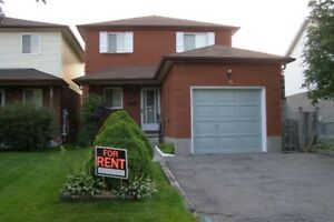 House for Rent in Courtice (3 bedrooms)