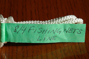 8/4 POLYESTER LINE WITH POLYPROPYLENE CORE FOR FISHING NETS