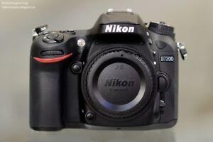 Boitier Nikon D7200  Avec ou Sans objectif 18-105mm VrII