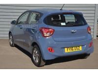 2016 Hyundai i10 1.2 Premium Petrol blue Automatic
