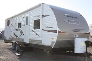 2013 COACHMEN CATALINA DELUXE EDITION BUNKHOUSE WITH SUPERSLIDE