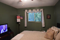 very clean fully furnished room for rent