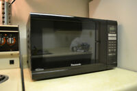 Black Panasonic Microwave